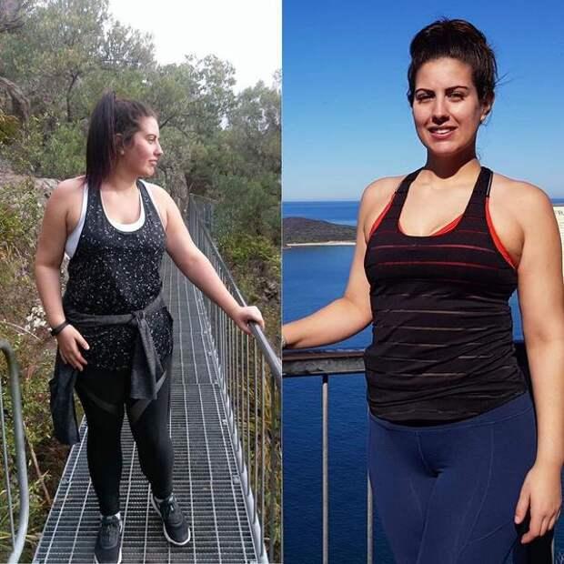 140-килограммовая девушка похудела иулучшила интим