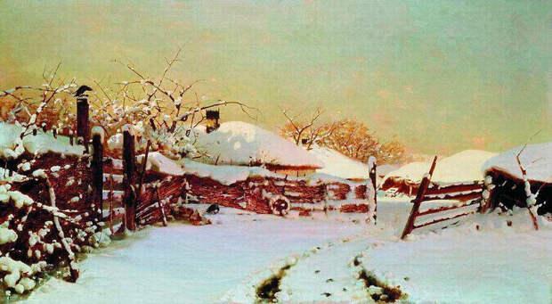 Николай Никанорович Дубовской. Зима, 1884