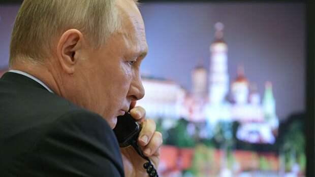 Путин провел телефонный разговор с Си Цзиньпинем