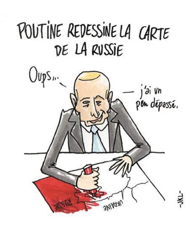 Культурный терроризм. Посмотрел я на карикатуры в Charlie Hebdo