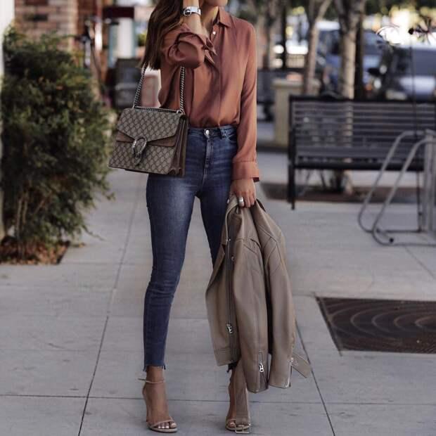 Городской стиль осень: стильные решения — минимум затрат (+20 фото)