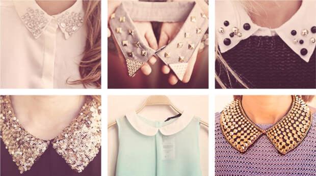 Накладные воротнички: встречайте новый тренд современных модниц