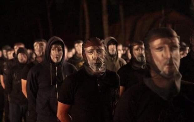 В селе под Киевом презентовали новую радикальную группировку