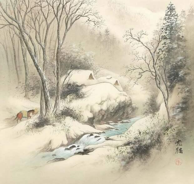 художник Коукеи Кодзима (Koukei Kojima) картины – 12