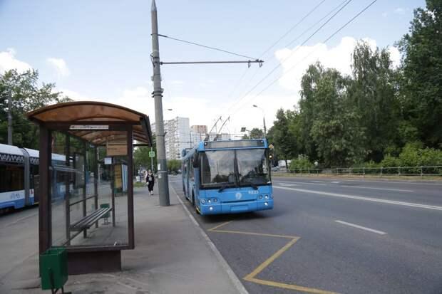 У станции МЦД «Трикотажная» появились новые автобусные остановки
