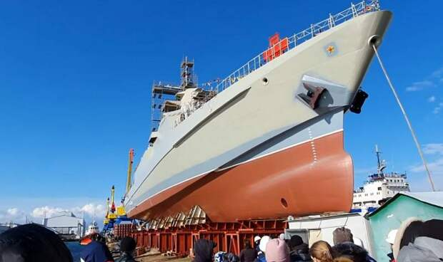 Крым продолжает снабжать ВМФ России патрульными кораблями