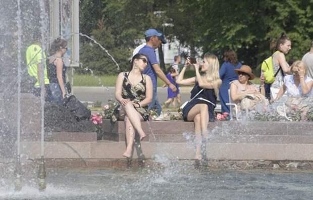 ВМоскве ожидается рекордная жара