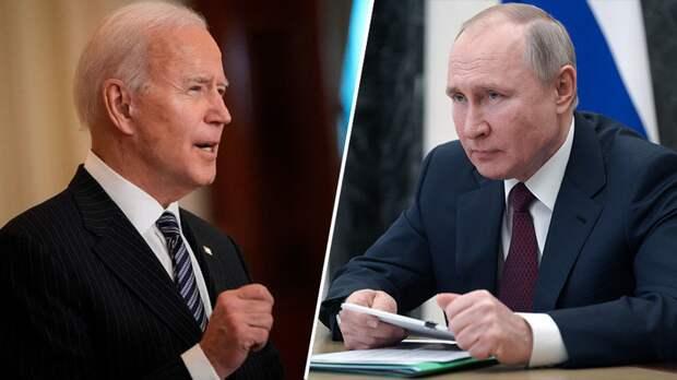 Путин и Байден обсуждали информацию о попытке переворота в Белоруссии