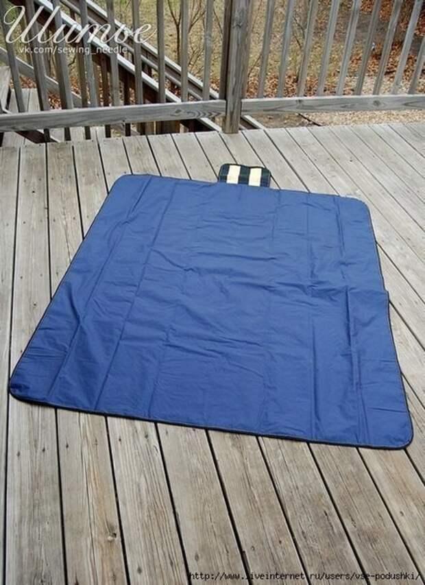 Сумка-одеяло трансформер