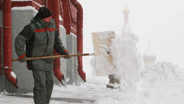 Снег в Москве. Особенности столичной уборки