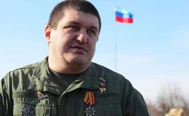 На фото: Герой ДНР, бывший командир интернациональной бригады «Пятнашка» и бывший помощник президента Абхазии Ахра Авидзба