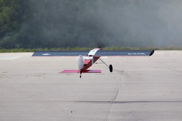 AFRL camber morphing wing takes flight