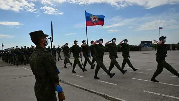 Луганская народная республика примет участие в Параде Победы