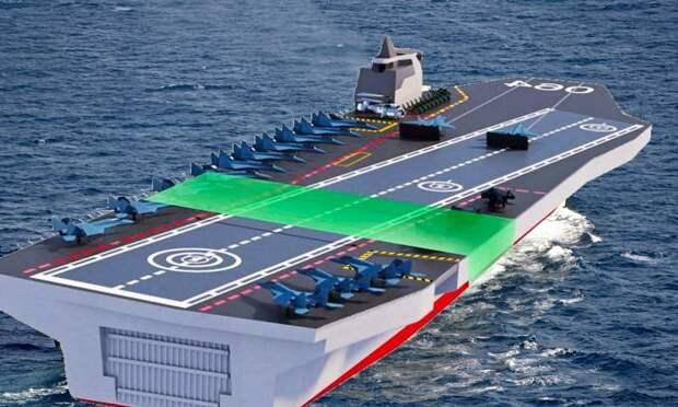 Россия выбрала незаурядный подход к строительству авианосца