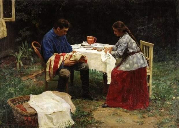 художник Николай Касаткин картины – 07