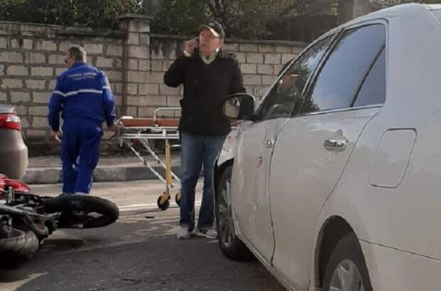 Стало известно о ДТП с участием машины экс-мэра Севастополя Ермакова