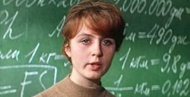 Самые прелестные учительницы из советского детства.