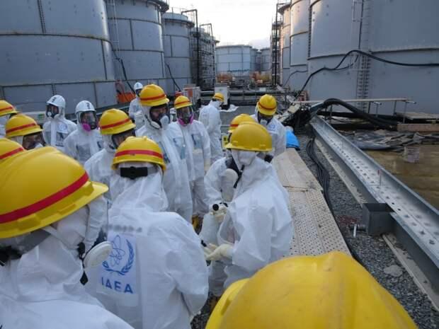 Япония выльет в океан радиоактивную воду с АЭС «Фукусима»