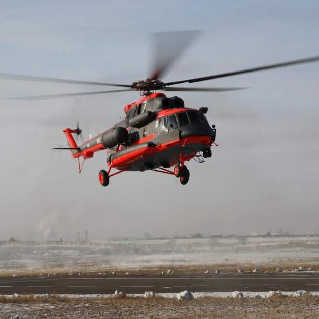 Ростех поставит МЧС четыре арктических Ми-8АМТШ-ВА