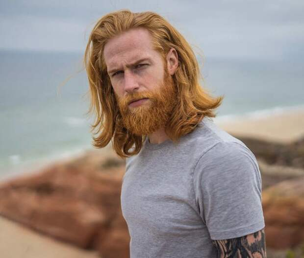 Парикмахер посоветовал парню отрастить бороду - и это полностью изменило его жизнь Круто получилось, борода, внезапно, до и после, изменения внешности, истории из жизни, истории людей, мужская красота