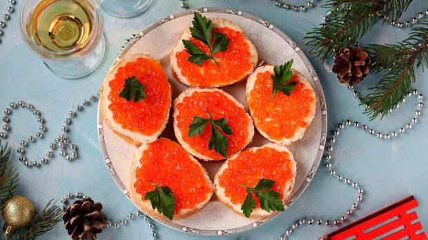 5 простых советских закусок на Новый год