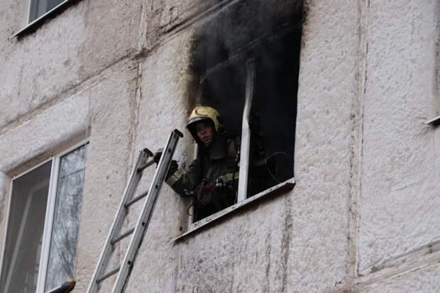 Пожар вспыхнул в одном из общежитий Воткинска: погиб мужчина