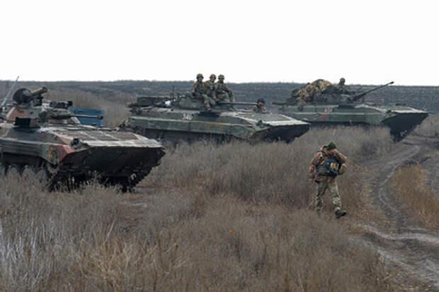 Названы вероятные сроки начала украинского наступления в Донбассе
