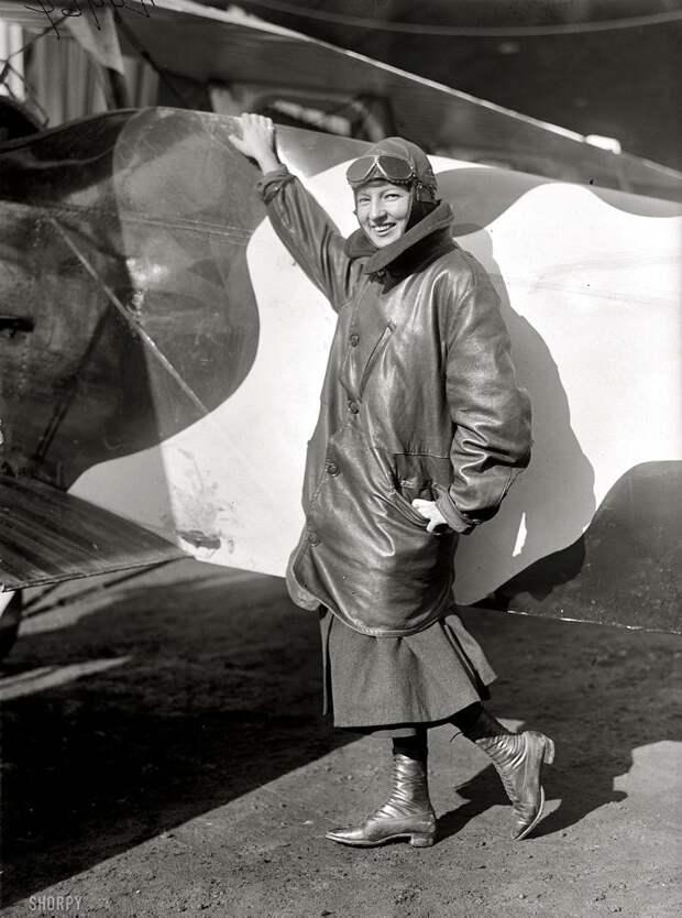 Самолеты и пилоты начала 20-го века на снимках американских фотографов (15)