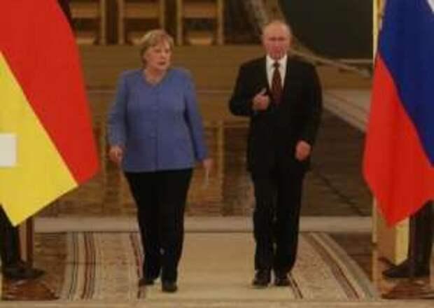 Прощальный визит: о чём Путин и Меркель говорили в Кремле