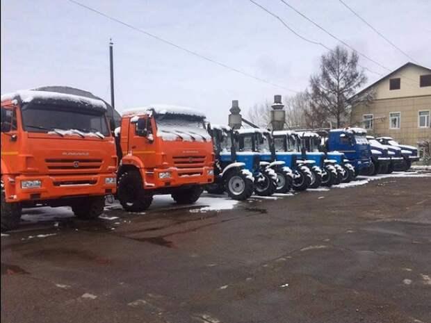 47 единиц лесопожарной техники поступит в Иркутскую область в 2021 году