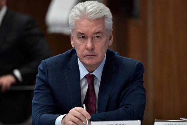 Собянин заявил оросте числа больных COVID-19 среди пожилых москвичей
