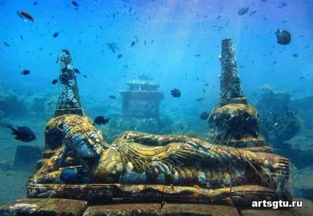 Дварка – затонувший город Кришны