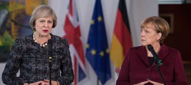 Брексит: Меркель зарабатывает на развале ЕС