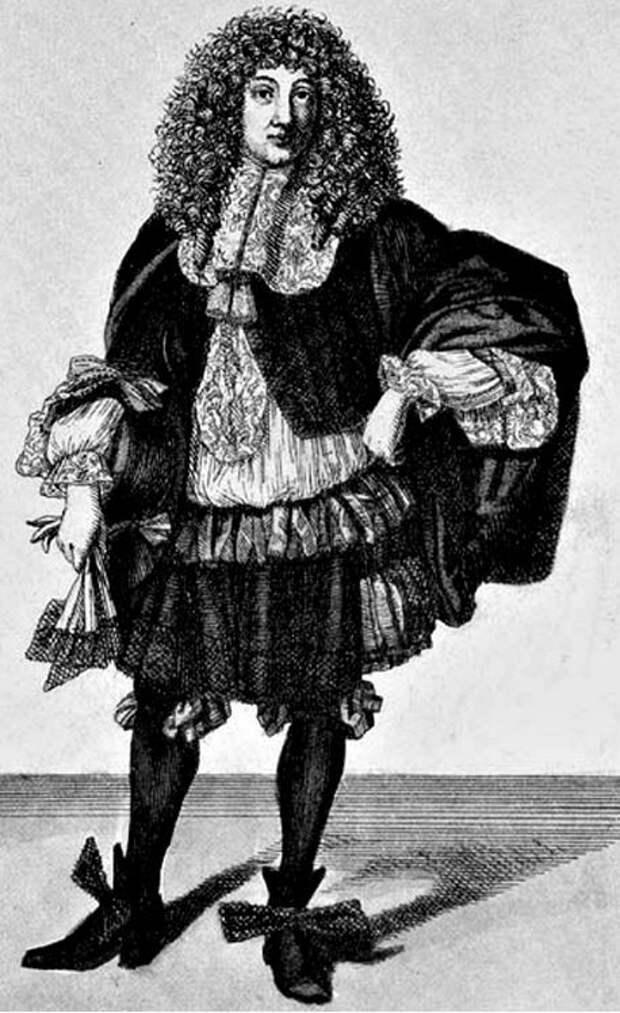 Сарафан, чулки и кружева изначально были мужской одеждой