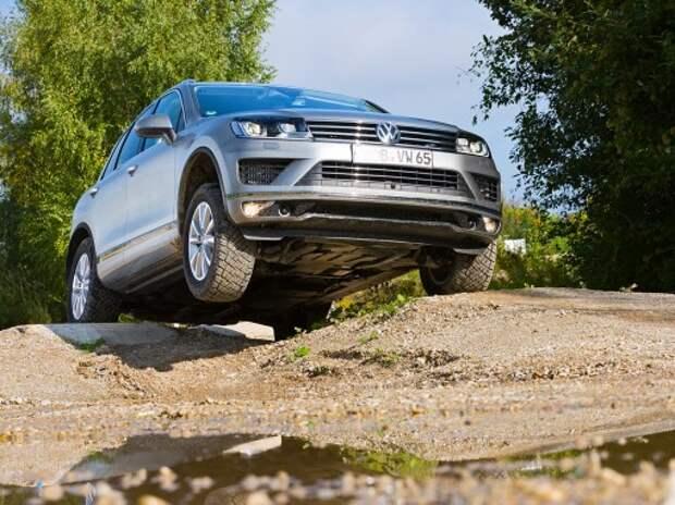 Обновленный Volkswagen Touareg: в другом платочке