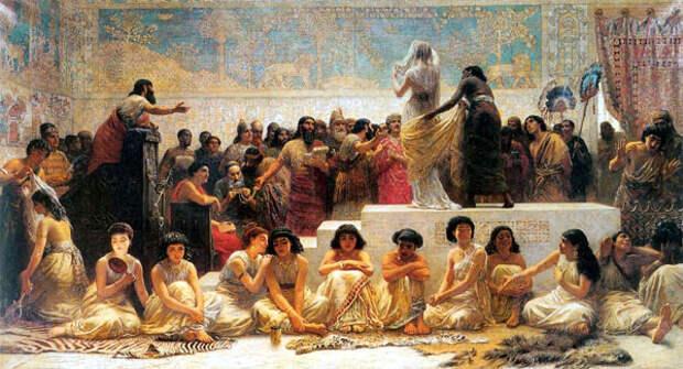 ancient babylon women