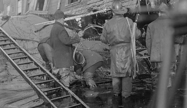 10 впечатляющих фото сахарного потопа вБостоне