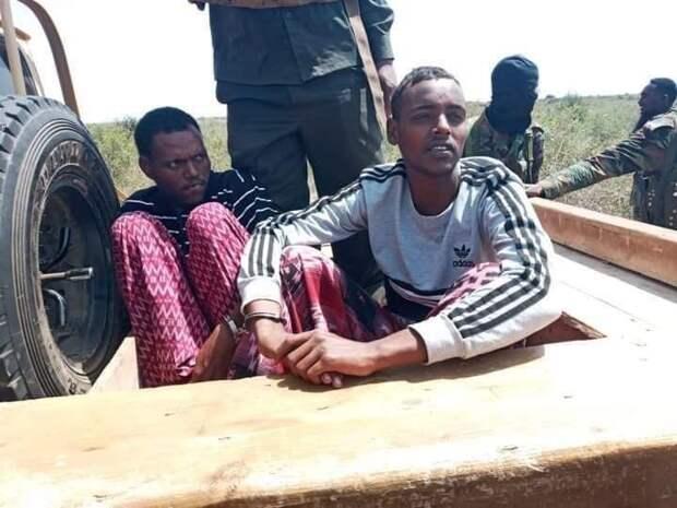 Публичный расстрел в Сомали