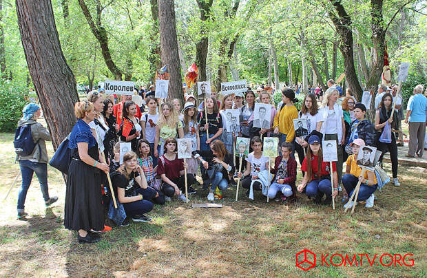 Учащиеся феодосийской художественной школы.