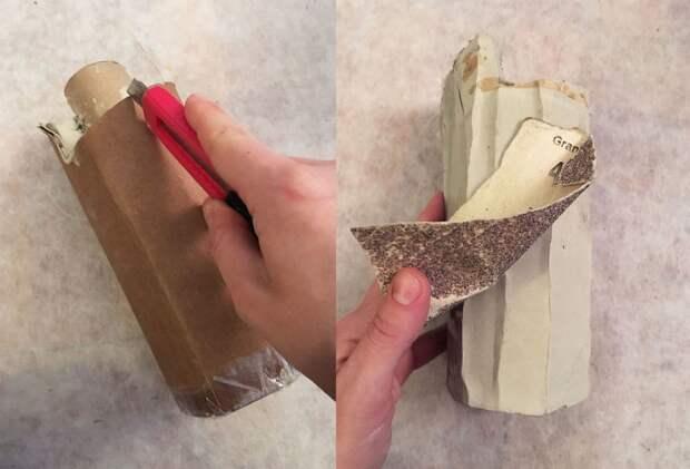 как сделать необычную вазу или лампу своими руками