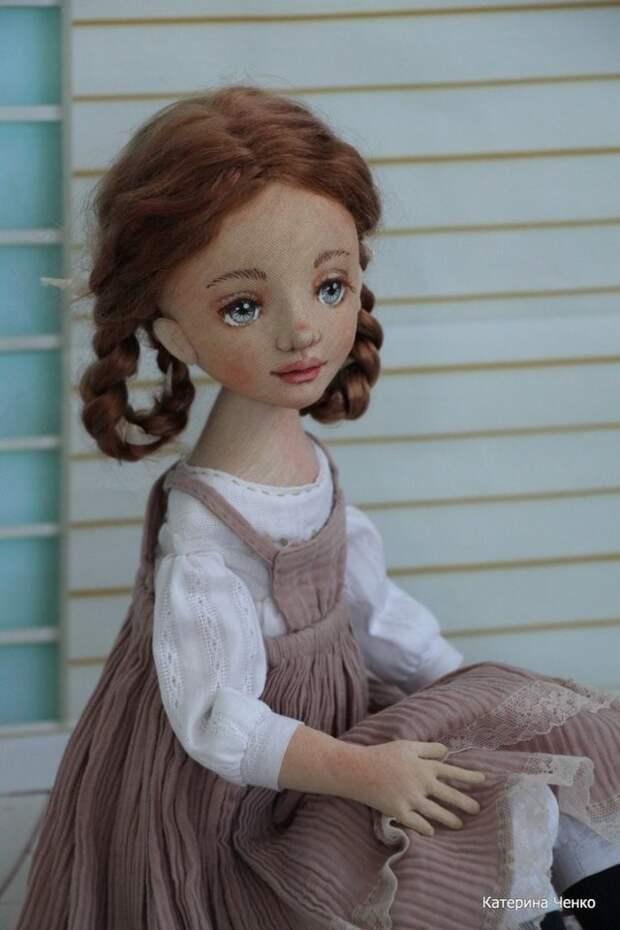 Авторские куклы Катерины Ченко