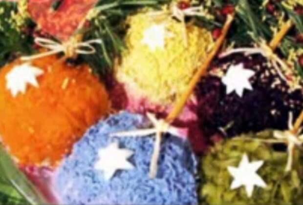 Салат Новогодние шарики