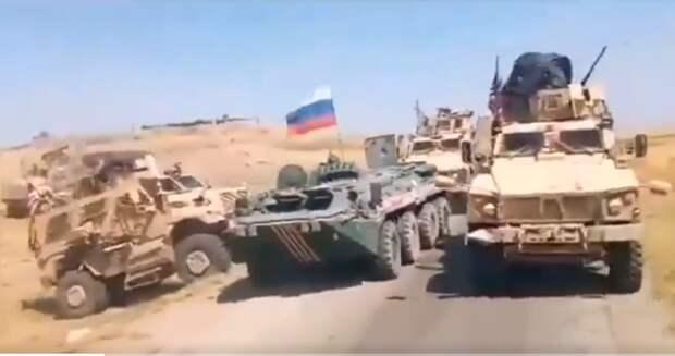 Мы случайно: Американцы в Сирии чуть не доигрались, угрожая российскому БТР