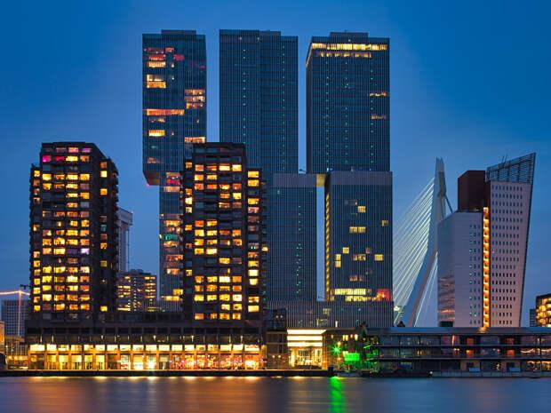 Rotterdam Tetris by Roger & Paula Berk on 500px.com