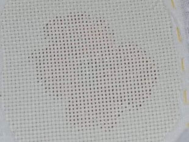 Полевые маки, вышитые бисером по схеме