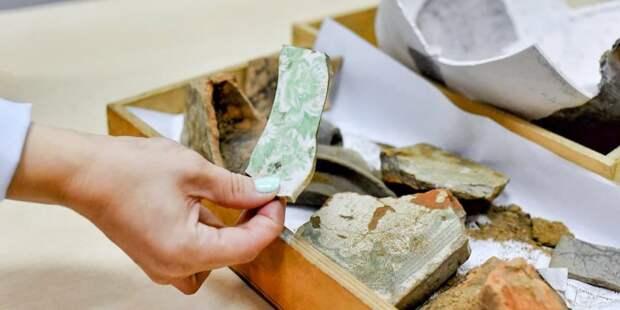 За 10 лет археологи Москвы обнаружили почти 60 тыс. ценных артефактов – Собянин. Фото: Ю. Иванко mos.ru