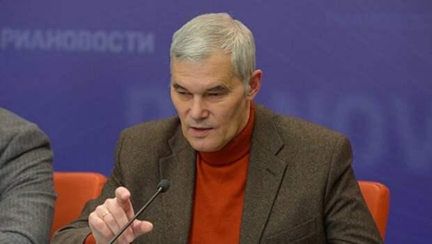 Военный эксперт Константин Сивков. Источник изображения: