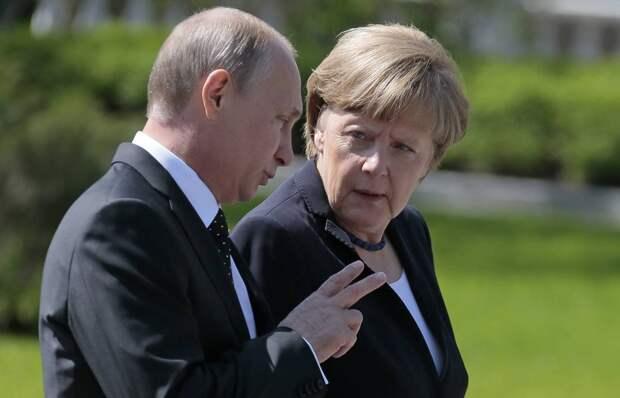 Теперь русские подложили свинью Германии. И всё санкции животворящие виноваты