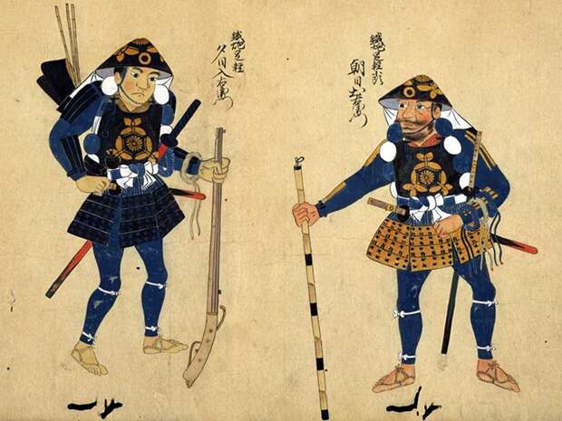 Легконогие в тени самураев.