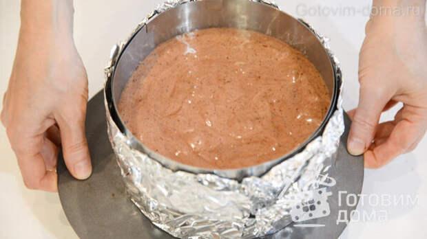 Сочный Шоколадный Бисквит фото к рецепту 15